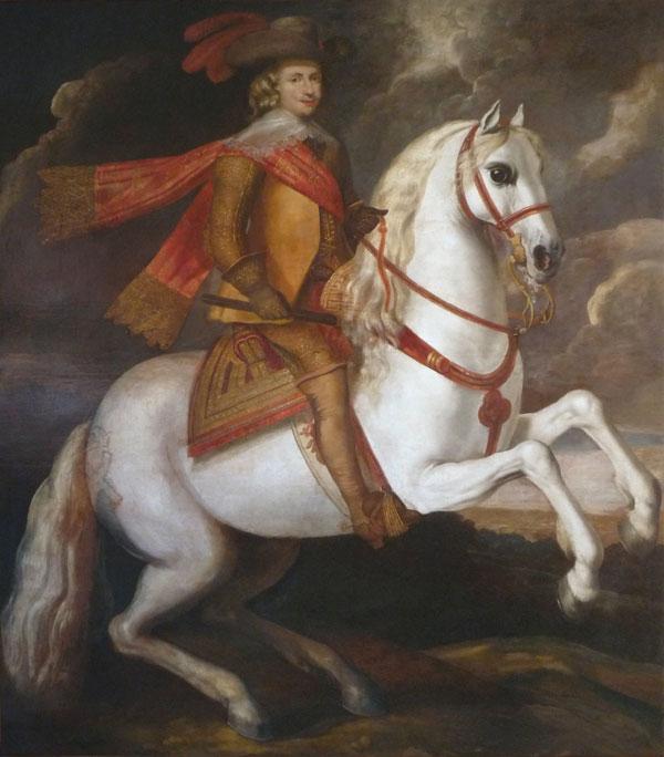 Restauration de tableaux anciens atelier arte restauro - Tableau de cheval ...